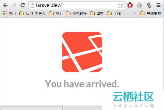 laravel 4安装及入门图文教程